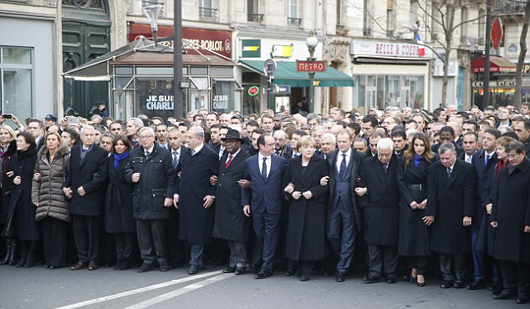 Charlie_Hebdo_leaders_march